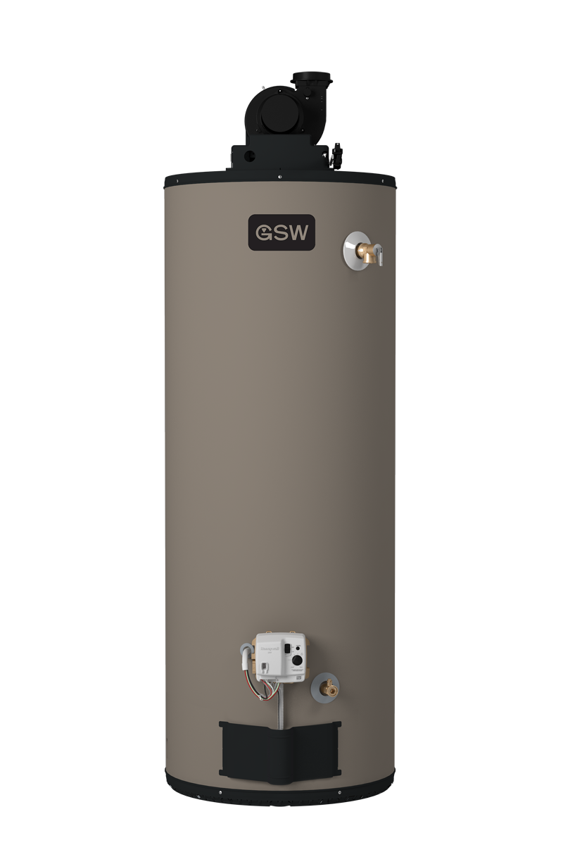 GSW Power Vent Gas Water Heater-PV40, 50 , 60 U.S.Gallon Image