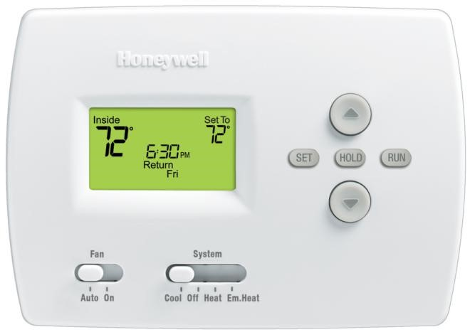 HONEYWELL PRO 4000 5-2 Day Programmable Thermostat Image